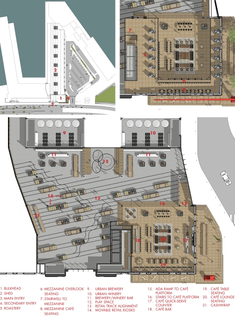 Final - BCV Pier 29 Presentation Board - Floor Plans